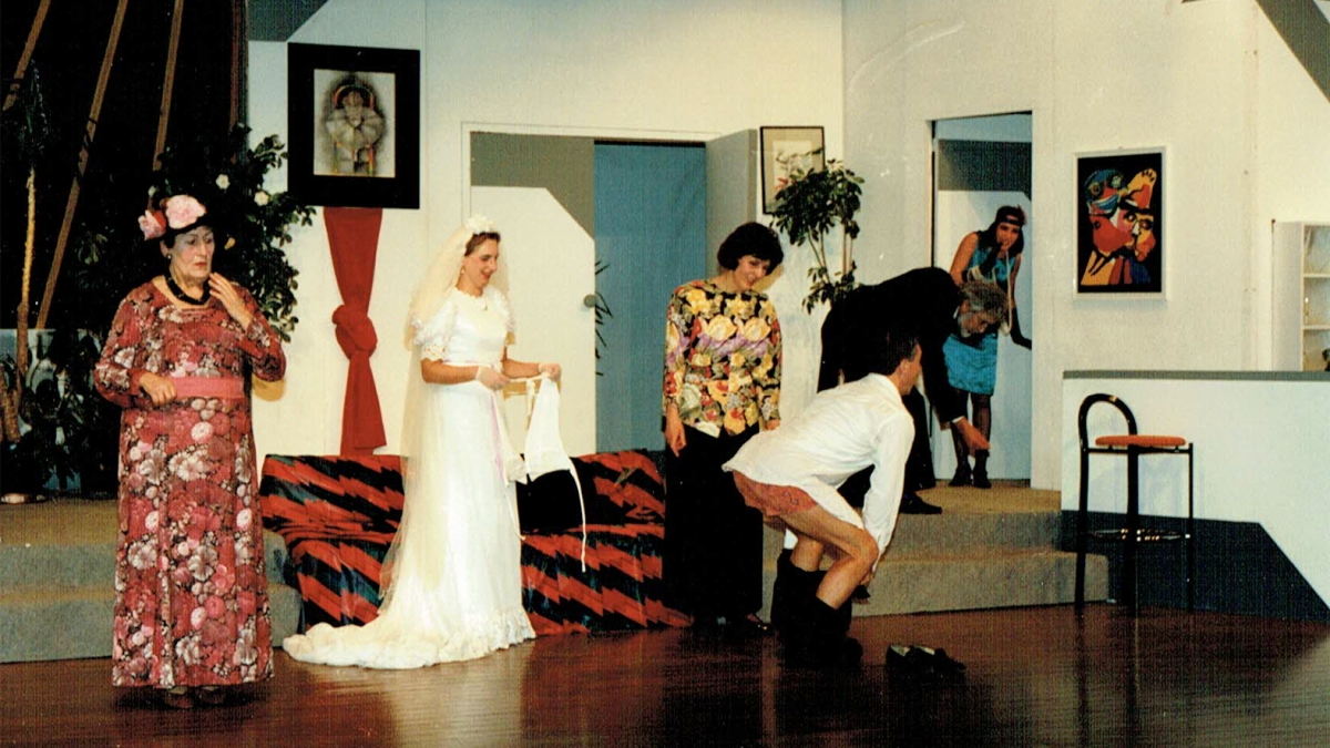 1990 - Daar gaat de bruid