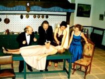 1990 - De familie danst