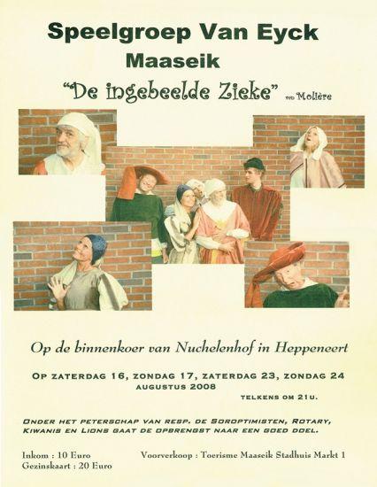 2008: 'DE INGEBEELDE ZIEKTE'