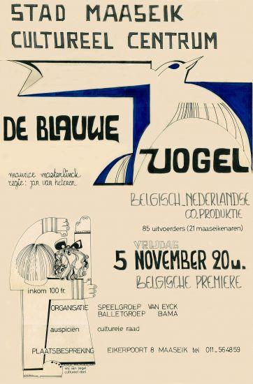 1976 DE BLAUWE VOGEL