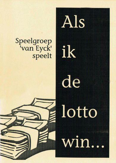 1992 ALS IK DE LOTTO WIN...