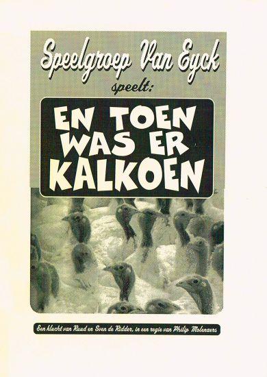 1996 EN TOEN WAS ER KALKOEN