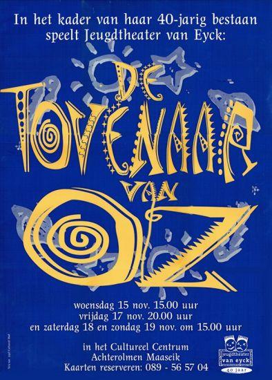 1995 DE TOVENAAR VAN OZ