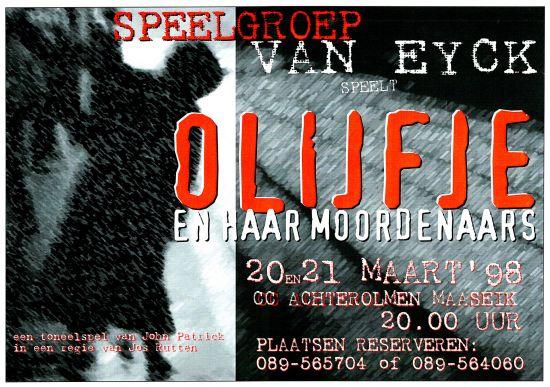 1998 'OLIJFJE EN HAAR MOORDENAARS'
