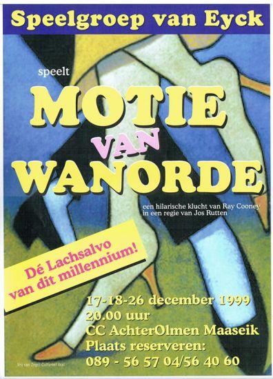 1999 MOTIE VAN WANORDE