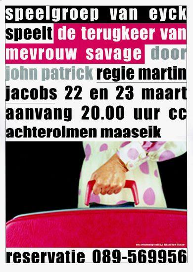 2002 'DE TERUGKEER VAN MEVROUW SAVAGE'