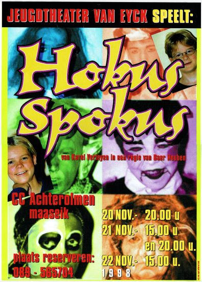1998 'HOKUS SPOKUS'